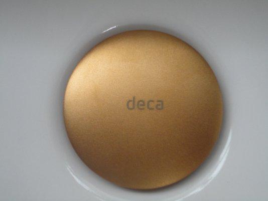 Valvula de escoamento 1601.GL.MT para lavatório, cuba e bidê Gold Matt Deca
