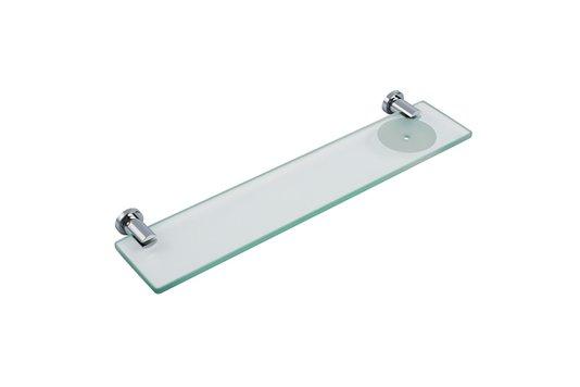 Porta Shampoo com Saboneteira Cromado Solution Crismoe