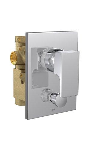 Misturador Monocomando 4 VIAS de Chuveiro com Desviador para Banheira UNIC cromado - 2994.C90 DECA