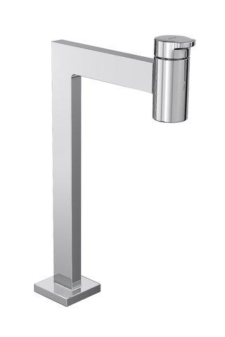 Torneira para lavatório de mesa bica alta LINK QUADRATTA 1198.C.LNQ cromada DECA