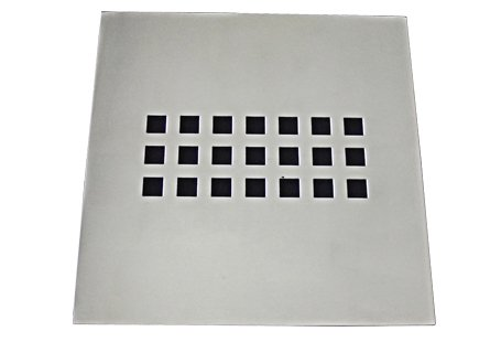 Grelha 9,4X9,4 sem Base Aço Inox Slim Invinox