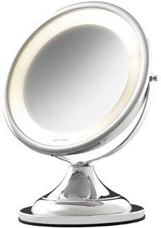 Espelho mesa Classic Lux cromado 220V 10226 Crys Bel