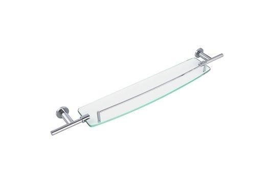 Porta Shampoo com Grade de Parede Cromado Slim Crismoe