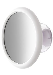 Espelho parede Plug branco 10103 Crys Bel
