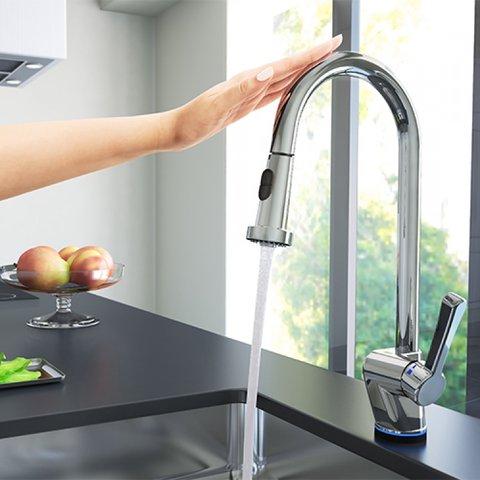 Misturador Monocomando Docol para Cozinha MANGIARE TECH/TOQUE Cromada - 660606