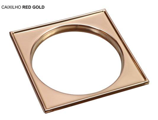 Caixilho/Base para grelha em Aço Inox 10 X 10 Red Gold
