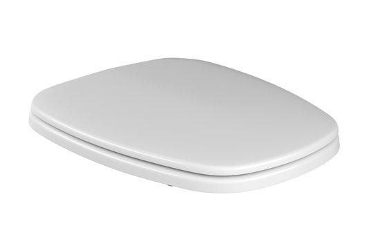 Assento plastico com microban AP.80.17 na cor branco, linha MONTE CARLO DECA