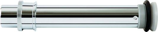 Tubo de ligação para bacias 1968.C cromado Deca