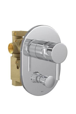 Misturador Monocomando 4 VIAS de Chuveiro com Desviador para Banheira LINK cromado - 2994.C.LNK DECA