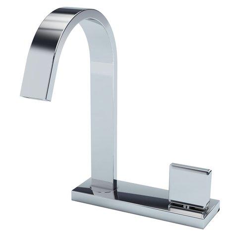 Torneira de mesa para lavatorio agua fria 1185 C210 cromado Prima Fani