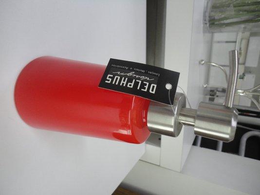 Saboneteira liquida de mesa 10935 vermelha
