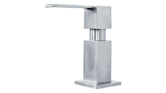 Dosador de sabão aço inox escovado quadrado (13320) Franke