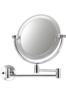 Espelho parede Doubler Cristal cromado 10523 Crys Bel