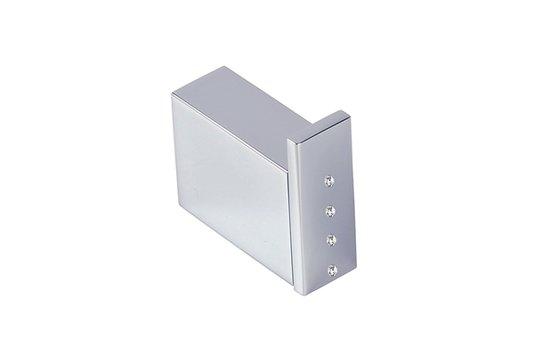 Cabide de Parede Cromado / Strass Unique Plus Crismoe
