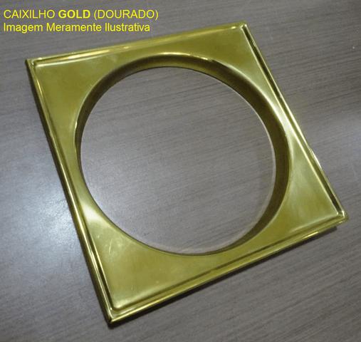 Caixilho/Base para grelha 15 X 15 gold