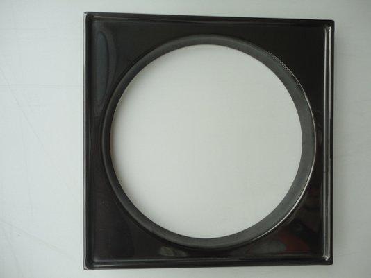 Caixilho/Base para grelha 15 X 15 Black Noa