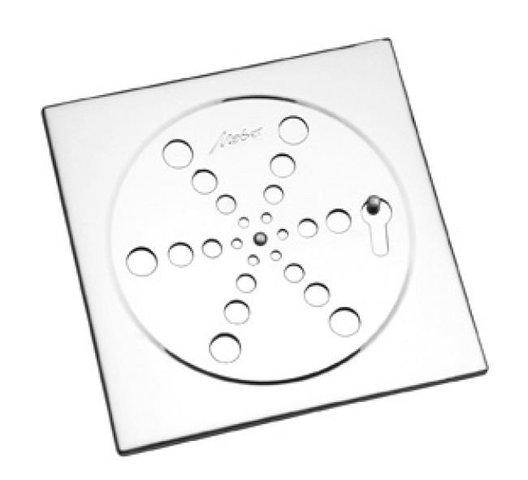 Grelha 10x10 sem Base Fecho Abre/Fecha 2410C Cromada Meber