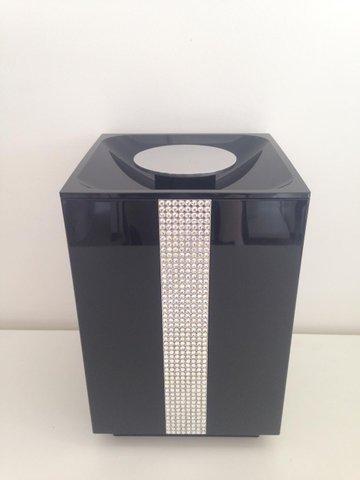 Lixeira 5 litros BA323/262 Anello Diamond/Cr/Preto Zen Design
