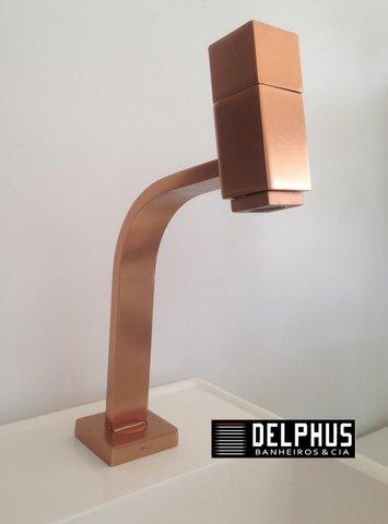 Torneira de mesa para lavatorio agua fria 1195 RV250 Rosso vechio Plena fani