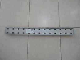 Ralo linear Royal 15332 - 100cm com tampa oculta e base polipropileno, saida central