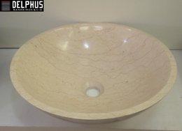 Cuba de Pedra de Apoio 39cm Galala Marble
