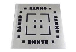 Grelha 9,4X9,4 sem Base Aço Inox Banho Invinox