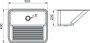 Tanque DeBacco Monobloco para Embutir/Sobrepor - 30 Lts Polido - 10.04.20405 (533 x 430mm)