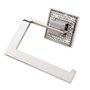 Papeleira cromo/ polido diamond BA073.261 Zen Design